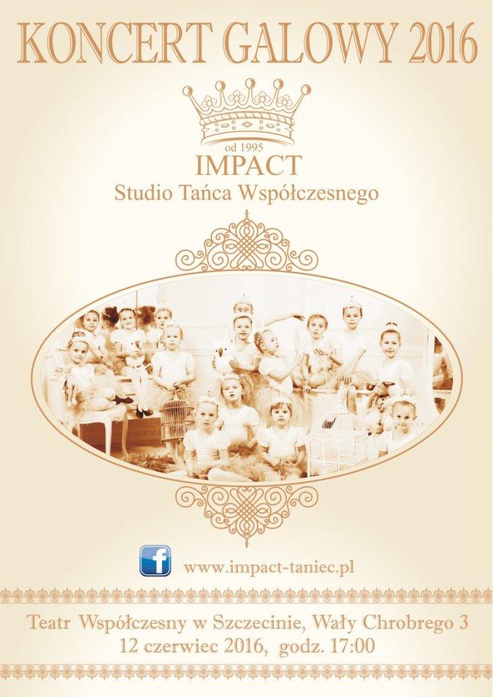 plakat impact szczecin 2016